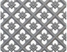 Gothic pattern cnc 3D printable model