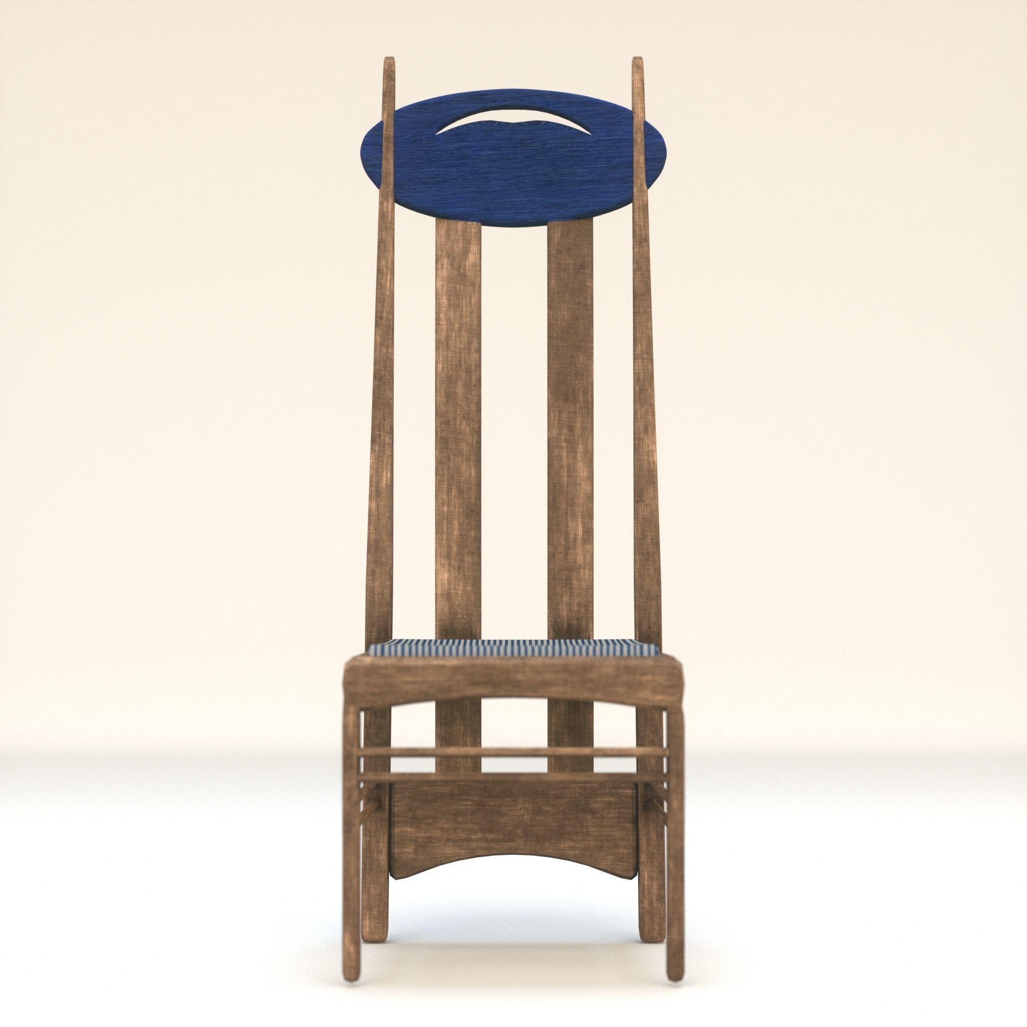 Arts and Crafts Argyle Chair Charles Rennie Mackintosh