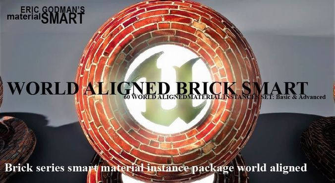 Brick World Aligned Materials
