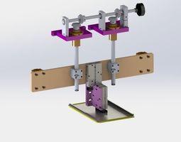 Manual fine-tuning module manufacture 3D