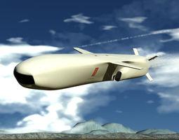 3D model Joint Strike Missile
