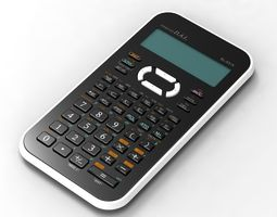 Calculator dwg 3D