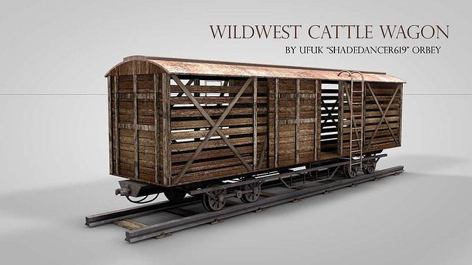 Western Cattle Wagon