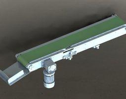 3D part The chain conveyor lin