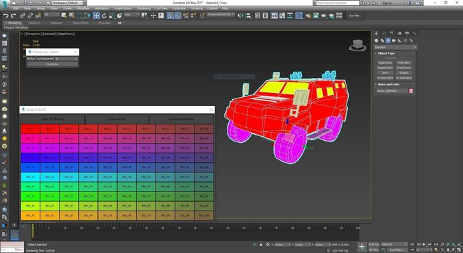 color id pro2 3d model ms 1