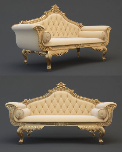 Wedding Sofa Cnc Model