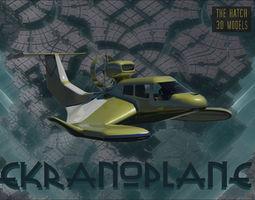 Ekranoplane 3D asset