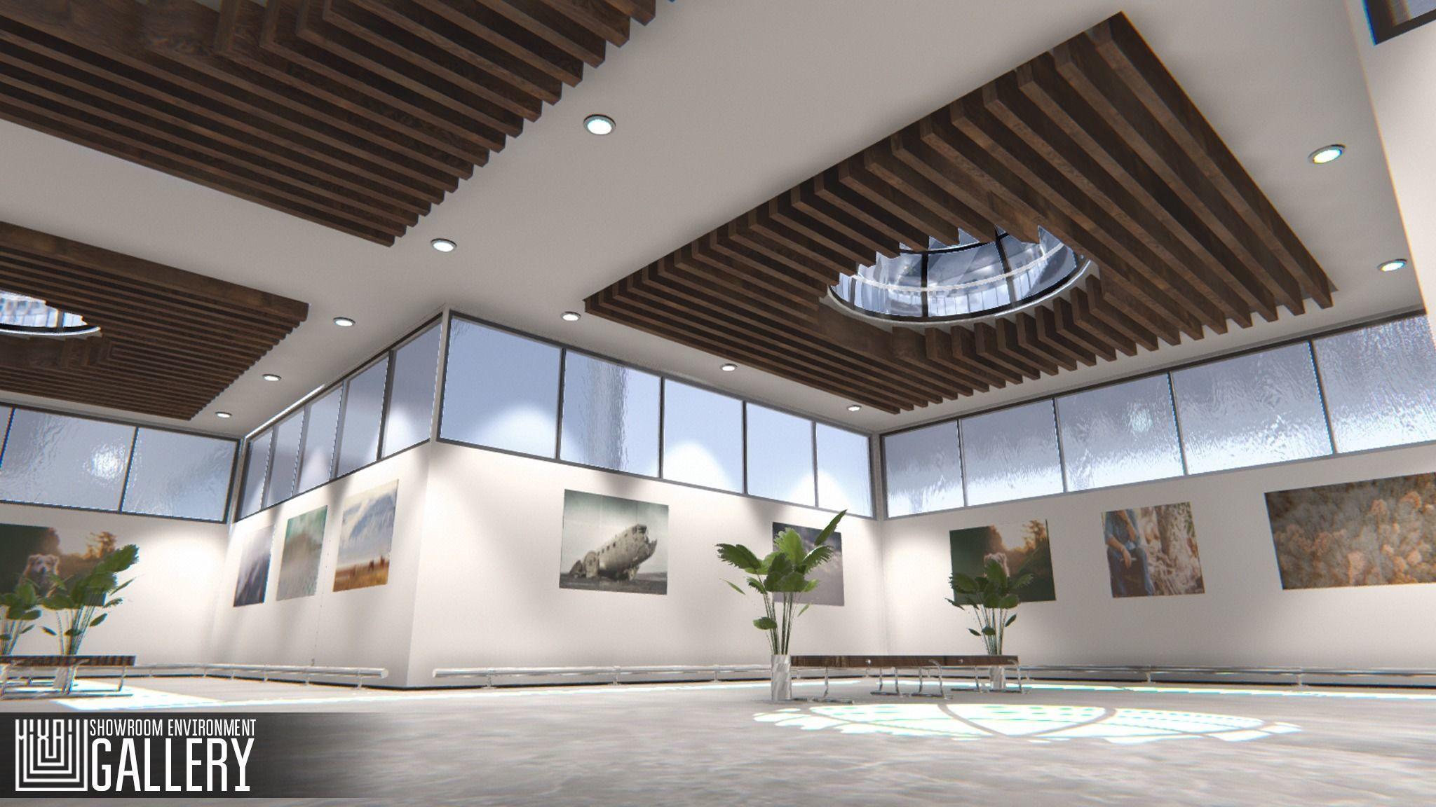 Showroom Environment - gallery