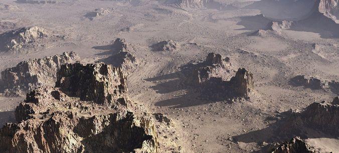 mars planet in vue 3d model vue 1