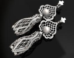 Matrioshka big earrings - original 3D print model