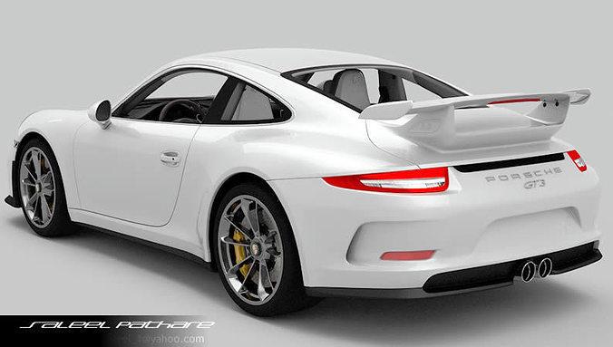 porsche 911 gt3 2015 3d model max obj 6 - Porsche 911 Gt3 2015