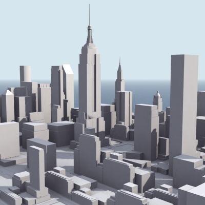 Stylised Manhattan