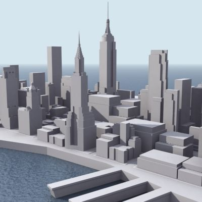 stylised manhattan 3d model low poly Bathroom Ideas 6×8 Inspirational Where Does Your Money Go For A Bathroom Remodel Homeadvisor
