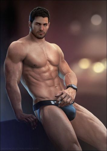 redfield nude chris