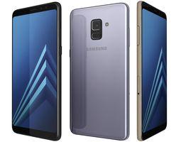 Samsung Galaxy A8 2018 Plus All Colors 3D model