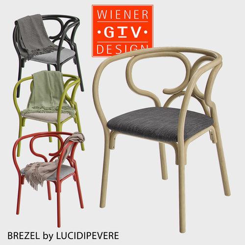 Beau Brezel   Gebrueder Thonet Vienna Chair 3D Model