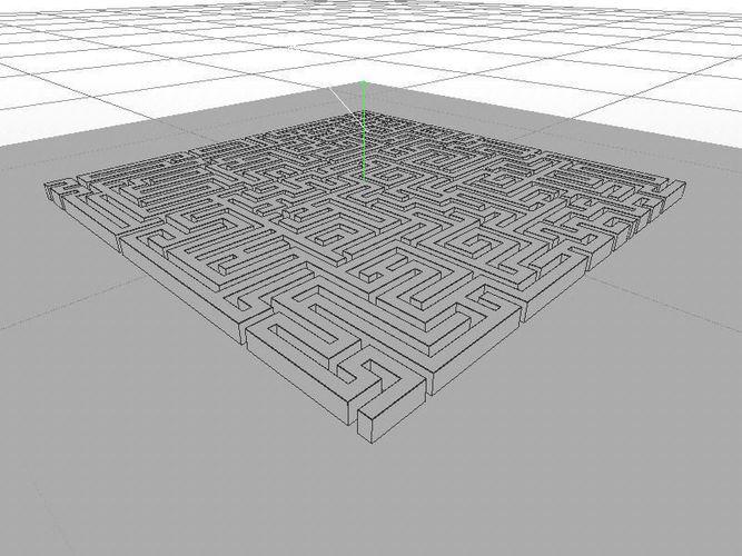 Maze - square