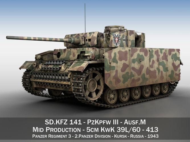 PzKpfw III - Panzer 3 - Ausf M - 413