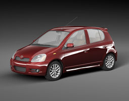 Toyota Vitz 3D model