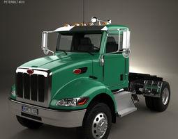 3D model Peterbilt 335 HE Tractor Truck 2008