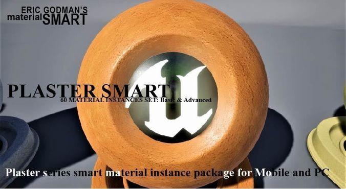 plaster materials 3d model uasset 1