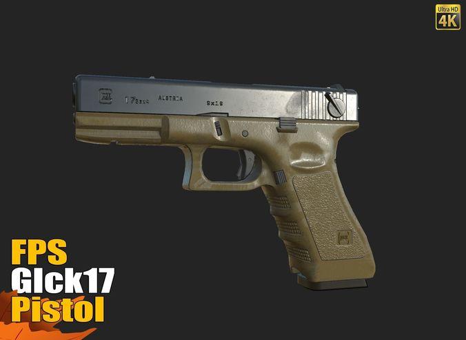 FPS Glck17 Pistol