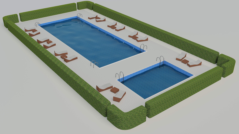 Pool scene 1