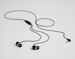 earbuds 32 3d model c4d