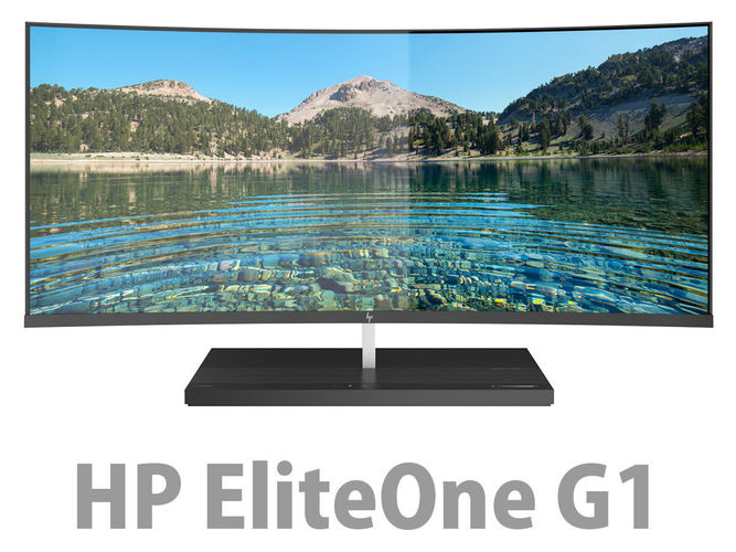 hp elite one 1000 g1 aio 34 inches  3d model max obj 3ds fbx c4d lwo lw lws 1