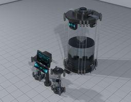 Laboratory containment vessel 3D