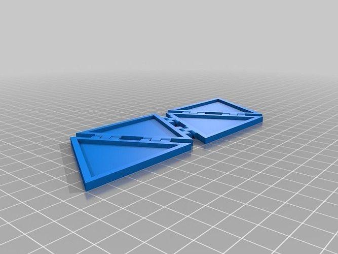Tetrahinge Free 3d Model 3d Printable Stl