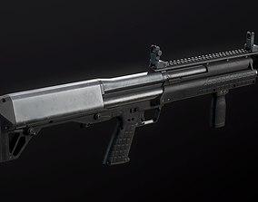 Kel-Tec KSG Shotgun 3D asset