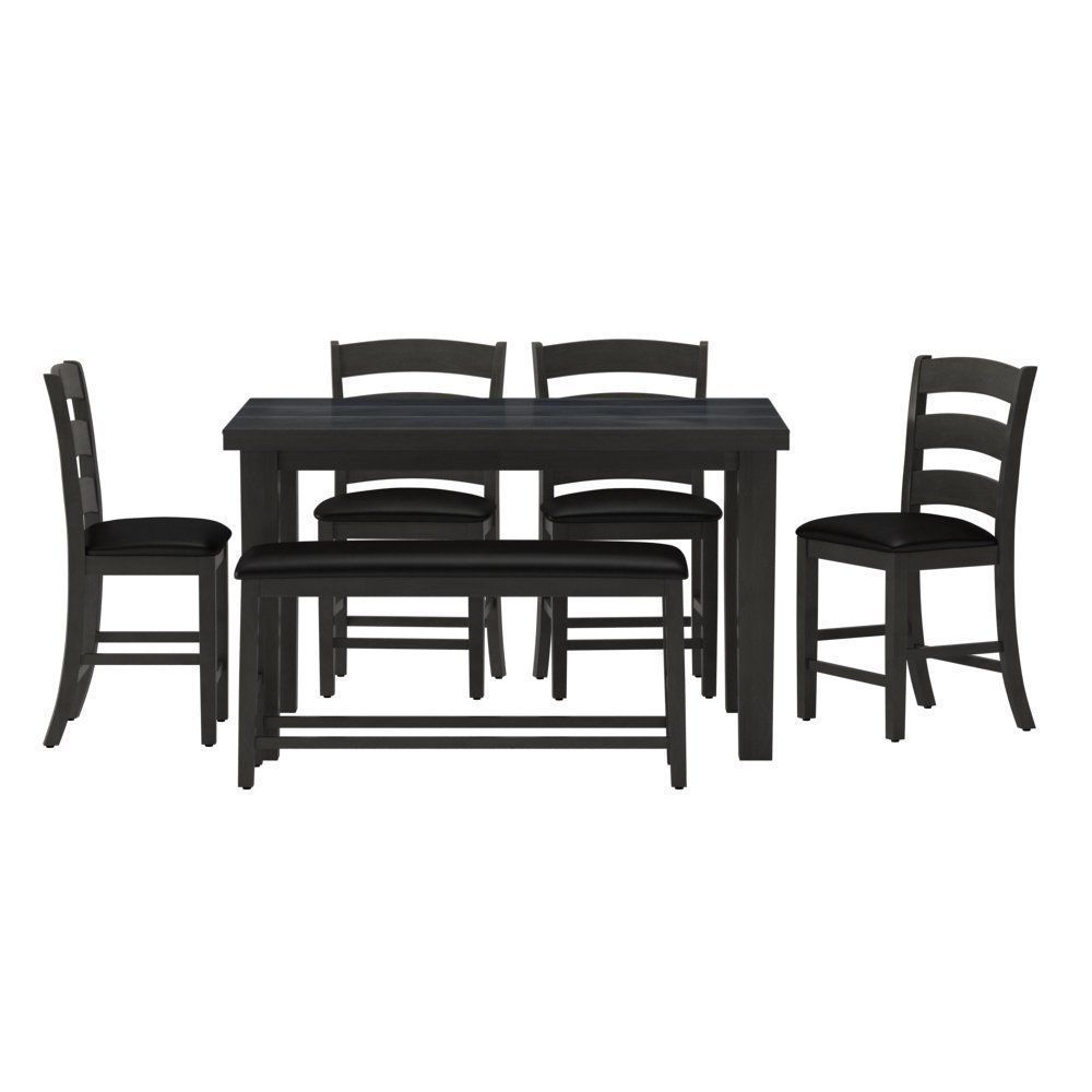 ... Bodie 6 Piece Counter Height Dining Set 3d Model Max 2