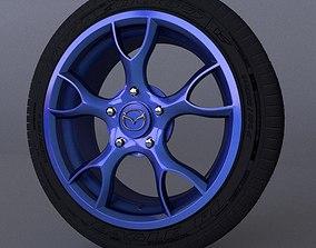 Mazda dysk 3D