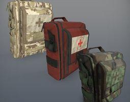 Military medkits 3D asset