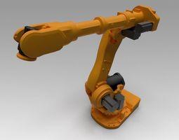Manipulator 3D model rigged