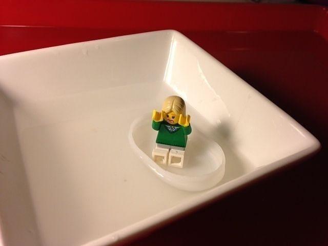 Tiny boat for LEGO minifig