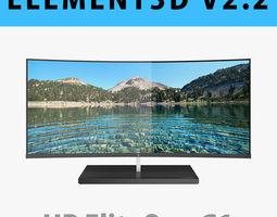 E3D - HP Elite One 1000 G1 AiO 34 inches model 32