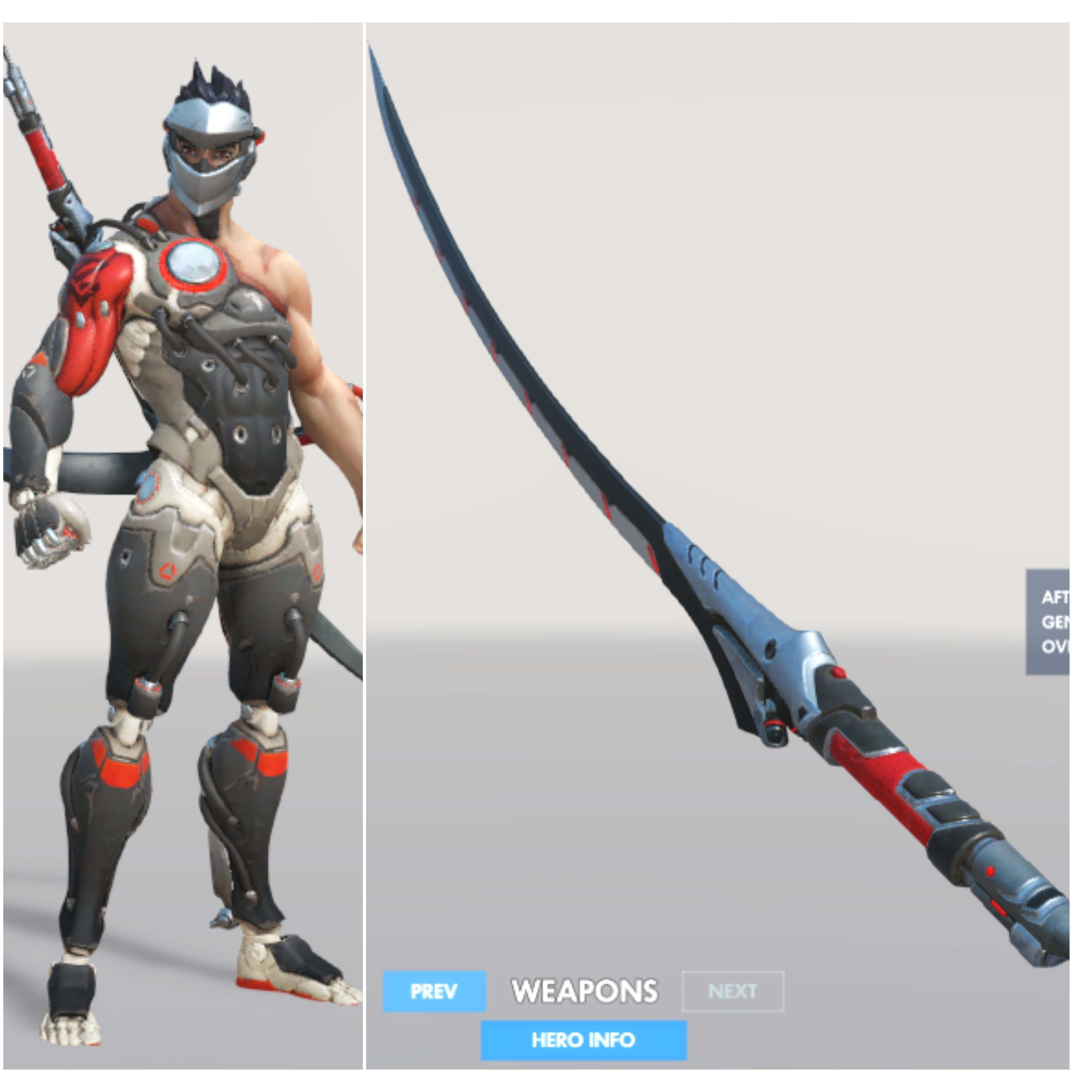Blackwatch Genji katana