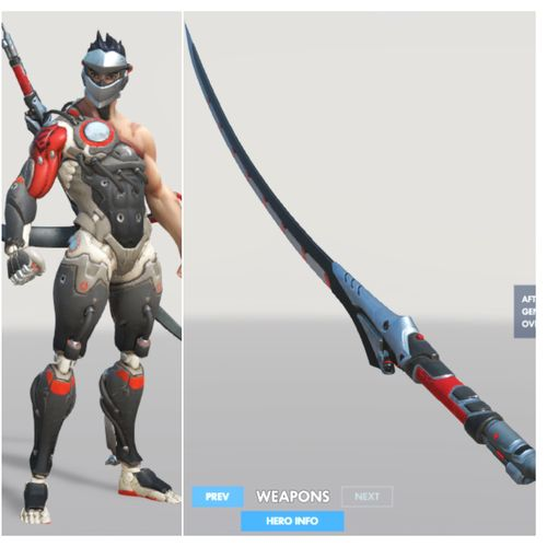 blackwatch genji katana 3d model stl 1
