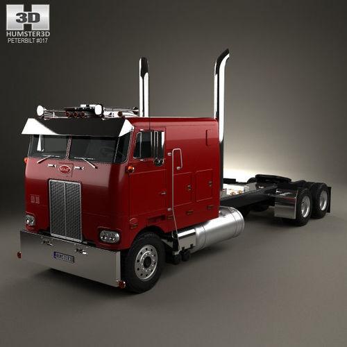 Peterbilt 352 Tractor Truck 1969 | 3D model