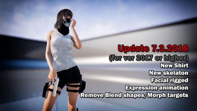 LP-287 Character | 3D model