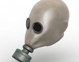 Gas mask ww1 3D model