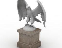 3D asset Eagle statue