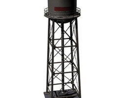 3D model rigged Water tower