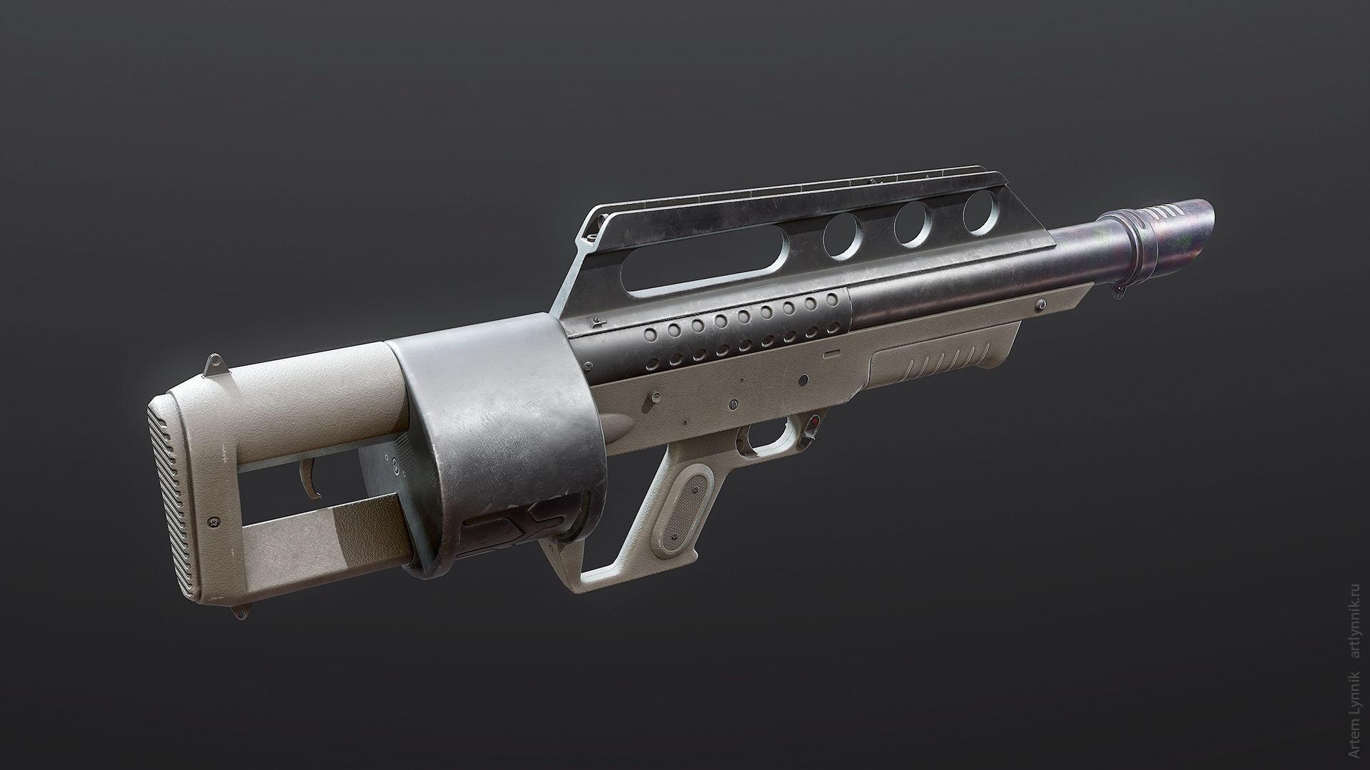Pancor Jackhammer Shotgun