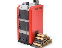 Solid Fuel Burning Boiler 3D model