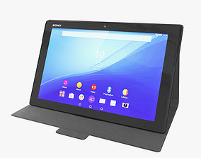 3D model Xperia Z4 Tablet Android tablet Sony Mobile