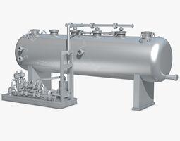 3D Industrial Metal Storage Equipment