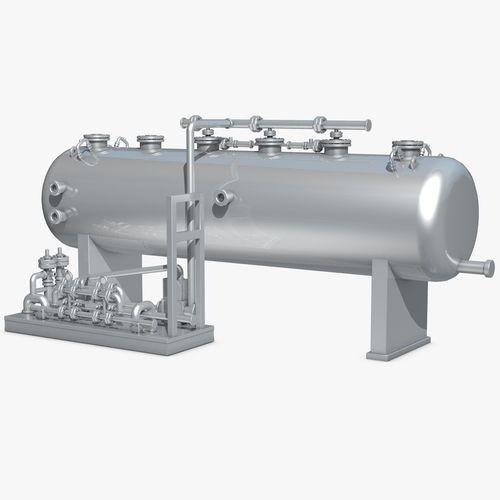 industrial metal storage equipment 3d model obj 3ds fbx c4d dxf dae 1